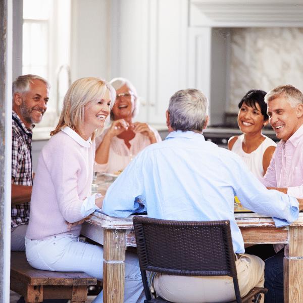 la colocation entre seniors